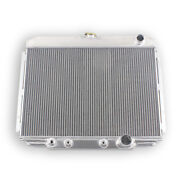 3-row 24'' Core Radiator For 68 69 Ford Mustang/67-70 Mercury Cougar 289 302 351