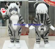 2020 Flower Cat Mascot Costume Suits Cosplay Party Game Dress Outfits Ad Fursuit