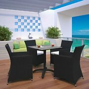 Modway Junction Wicker Rattan 5-piece Outdoor Patio Dining Set With 28 Dining...