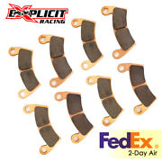 Sintered Brake Pad Set For Polaris Rzr 1000 Xp / Crew - Front And Rear Pads