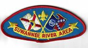 Suwannee River Area Csp Red Border [ind-158]