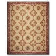 10and039 X 14and039 Asmara Hand Woven 100 Wool French Needlepoint Area Rug 10 X 14 Ft
