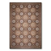 10and039 X 15and039 Asmara Hand Woven Wool French Aubusson Oriental Area Rug 10x15 Brown