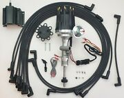 Ford Thunderbird 55-57 272 292 312 Tach Drive Hei Distributor + Wires + 50k Coil