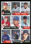 2002 Topps Heritage Baseball 251-363 Base Cards - Complete Your Set 60 Off