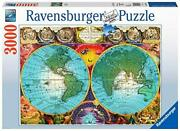 Ravensburger Antique Map Puzzle 3000 Piece Jigsaw Puzzle For Adults – Softcli...