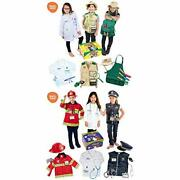 Born Toys Deluxe Premium Washable Hero And Dress Up Trunk Set Bundle Includes...