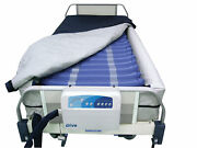 Med Aire Plus Defined Perimeter Low Air Loss Mattress Replacement System, W/low…