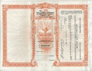 Thrift Plan Of Bedford County Five Per Cent Thrift Note No 105 1000
