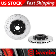 Fits 2005-2006 Mercedes-benz Cl65 Amg Front Brake Rotors - Brembo Premium Oe