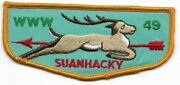 Oa Lodge 49 Suanhacky Greater New York, Queens F-4 46 Mm Name [oap386]