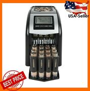 New Electric Coin Counter Sorter Machine Cash Money Bank Digital Display Count