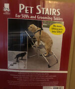 Master Equipment Steel Portable Pet Stairs - Helps Dogs Climb -