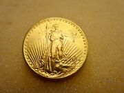 1914 Gold American Coin- 20 Double Eagle Gaudens Andnbsp
