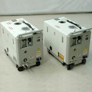2 Kashiyama Sd90viiifu-185-60 Screw Dry Vacuum Pumps For Parts Rear Outlet