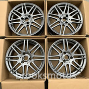 17 B Style Gray Wheels Rims Fits For Smart Fortwo 3x112 Offset27 Set Of 4