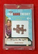 2016 Big Bang Theory Seasons 6 And 7 Authentic Prop Card M12 Penny Jigsaw Puzzle