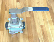 Pbm 3 2-way Ball Valve Cf3m Cshfk8x-z---18f F316l/1.4404 Body Epr And039and039oand039and039 Rings