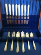 Westmorland Lady Hilton Sterling 32 Pcs Service For 8
