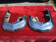 1963 1964 Cadillac Upper Front Bumper End Shiny Driver Quality Nice Caddy Oem