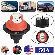 50a Battery Isolator Disconnect Kill Switch Cut On/off For Car Vehicles Boat Rv