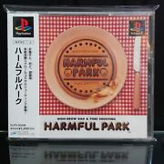 Used Harmful Park High Brow Gag Ps1 Playstation Pure Shooting Game Soft