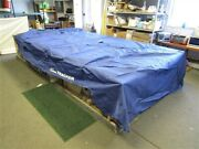 Sun Tracker Party Barge 20 Signature Pontoon Cover Blue 243 X 127 1/2 Boat