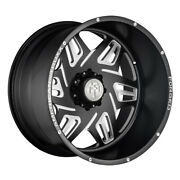 American Truxx Atf1908 Orion 24x14 8x170 Et-76 Matte Black/milled Qty Of 1