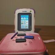 Vtech Innotab Pink Tablet With Backpack Holder And Three Games