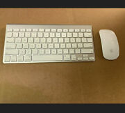 Apple A1314 Wireless Keyboard And Apple A1657 Wireless Mouse