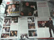 Celine Dion Clippings Cuttings Lot 3 + Covers + Music Store Promo Card