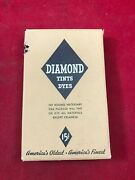 Vintage Diamond Tints And Dyes Tan Box With Original Contents And Instructions