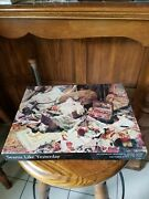 Vintage Springbok Feels Like Yesterday The Seamstress 500 Pc Jigsaw Puzzle
