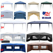 1010 1020 Outdoor Camping Folding Event Patio Tent Awning Waterproof W/ Bag
