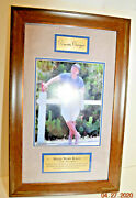 Ronald Wilson Reagan 40th President Picture Framed Wall Art 13 1/2 By 21