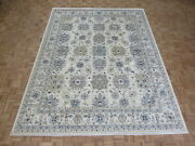 8and03911 X 11and0397 Hand Knotted Ivory Peshawar Oushak Oriental Rug G8863