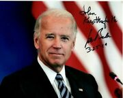 Joe Biden Autographed Signed Photograph - To John Great Content And Dated