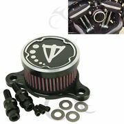 Motorcycle Air Cleaner Intake Filter Fit For Harley Sportster Xl 883 1200 04-16