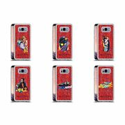 Doctor Who Season 11 Badges Red Clear Hybrid Liquid Glitter For Samsung Phones