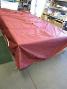 Tracker Party Barge Pb 18 Signature 2014 Maroon Cover 34906-34 Marine Boat