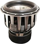 Earthquake Sound Holees 15 Subwoofer Driver 7000w Rms Dual Vc 1ohm Ex Demo