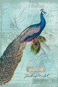 Art-print-ophelia-and-co-animals-peacock-nouveau-on-paper-canvas-or-framed