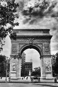 Art-print-jenney-architecture-washington-square-arch-on-paper-canvas-or-framed