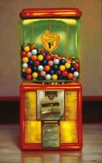 Art-print-colletta-floral-gumball-machine-x-on-paper-canvas-or-framed