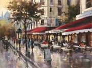 Art-print-heighton-european-avenue-des-champs-elysees-on-paper-canvas-or-framed