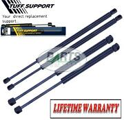 4 Pieces 2 Hood And 2 Trunk Lift Supports Shocks Struts Arms Props Rods Damper