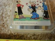 Rare Vintage Popeye, Olive Oyl Wind Up Music Box, Made In Honk Kong Works