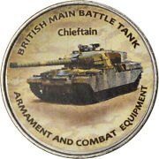 [788006] Coin Zimbabwe Shilling 2020 Tanks - Chieftain Ms Nickel Plated