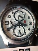 Swiss Army Victorinox Infantry Vintage Automatic Chronograph Watch 241449 Men's