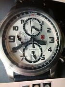 Swiss Army Victorinox Infantry Vintage Automatic Chronograph Watch 241449 Menandrsquos